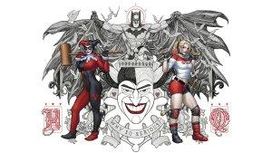 Batman and the queens