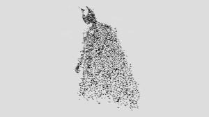 Batman made of Bats 300x169 Batman made of Bats