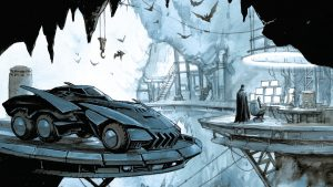 Batman's Batcaving Featuring the Batmobile