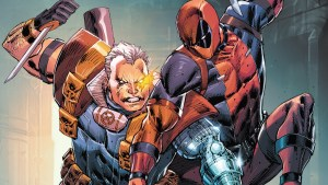 Cable and Deadpool looking classic