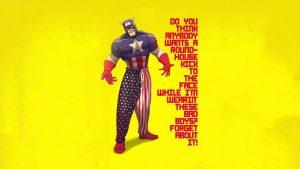 Captain America by Napoleon Dynamite