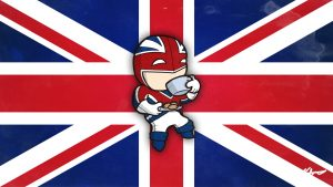 Chibi Captain Britain