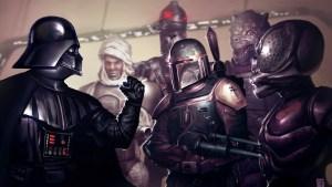 Darth Vader, Boba Fett, Dengar, Bossk, IG-88, 4-LOM