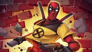 Deadpool X-Force Cutoff