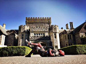 Deadpool at the castle