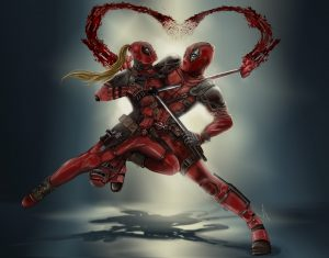 Deadpool vs Lady Deadpool