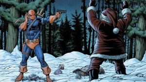 Deathstroke Vs Santa