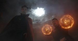 Doctor Strange and Wu