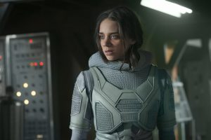 Hannah John Kamen as Ghost in Ant-man and the Wasp