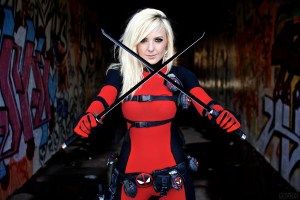 Jessica as Deadpool