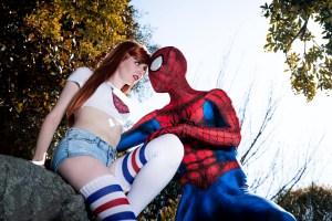 MJ and Spider-Man
