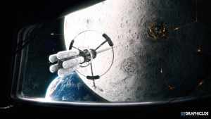 Space Elevator on Moon