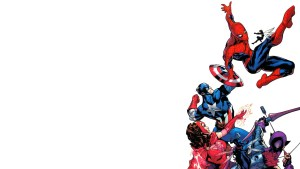 Spider-man fights the Avengers