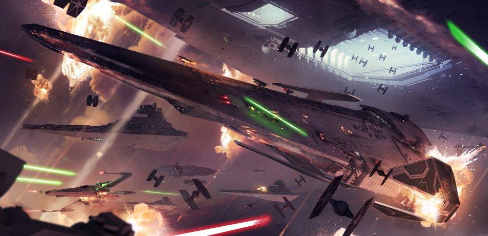 Star Wars Fleet Battle Zoom Comics Daily Comic Book
