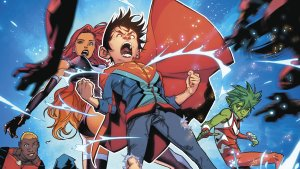 Superboy is angry