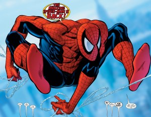 The Amazing Spider-man is back
