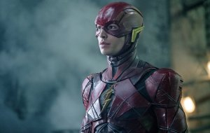The Flash in body armor