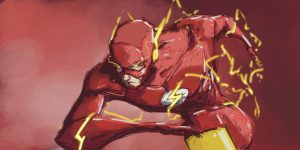 The flash in 4k