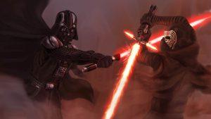 Vader vs Kylo Ren