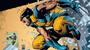 Wolverine Jumping Through A Window