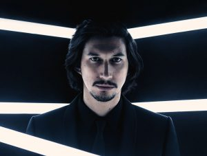 adam driver as kylo ren in british vogue 2017