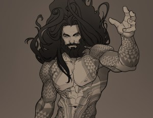 aquaman fan art 0r