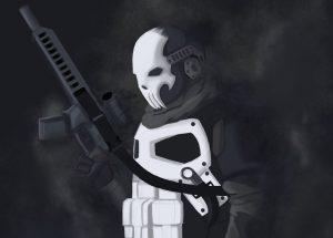 armored punisher artwork bs
