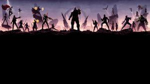 avengers infinity war minimalism 8k nh