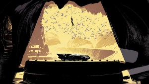 batcave catwoman dc comics artwork iw