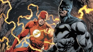batman zapped by the flash