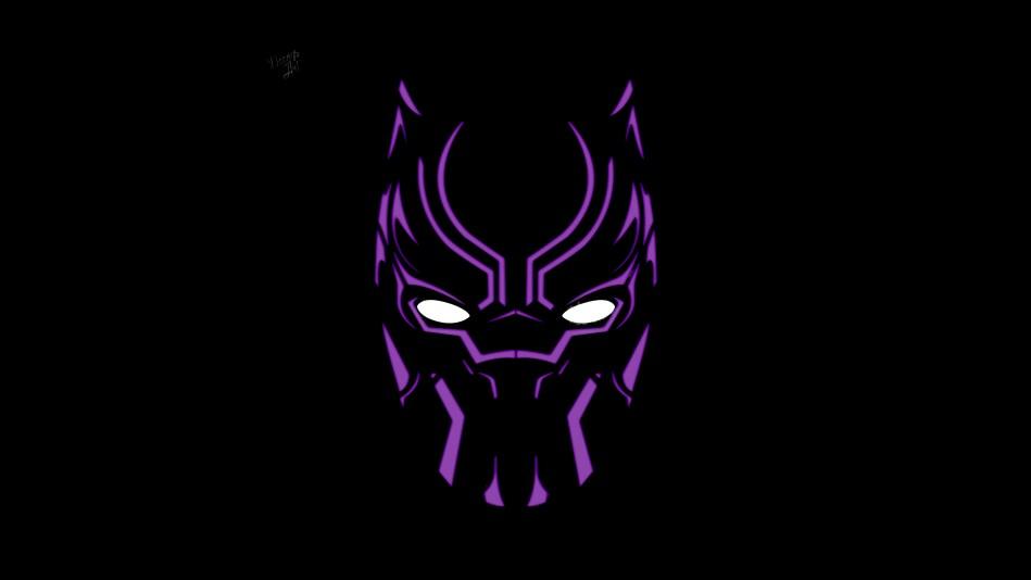 Black Panther Illustration 4k Artwork Vh Zoom Comics