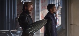 captain america and t challa in avengers infinity war 2018 n1