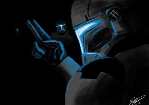 clone troopers in the dark