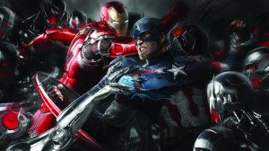 iron man and captain america 5k artwork 8r