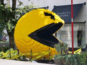pac man destruction