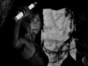 rise of the tomb raider monochrome 4k eq