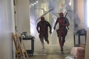 ryan renolds and james corden in deadpool dress q1