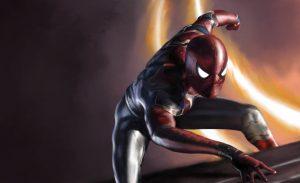 spiderman avengers infinity war s0