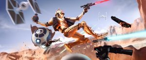 star wars fight scifi qhd