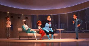 the incredibles 2 in entertainment weekly iv