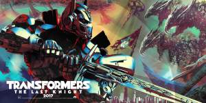 transformers the last knight poster po