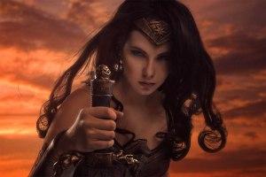 wonder woman cosplay zo