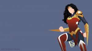 wonder woman minimalist yo