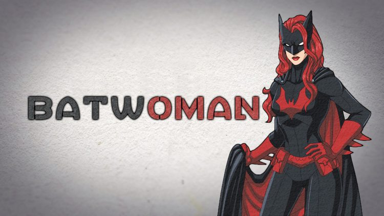 Batwoman with Texture