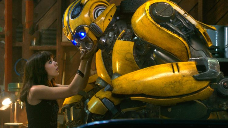 Bumble bee hitting on hailee Steinfeld