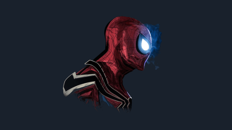 Glowy Spider-man