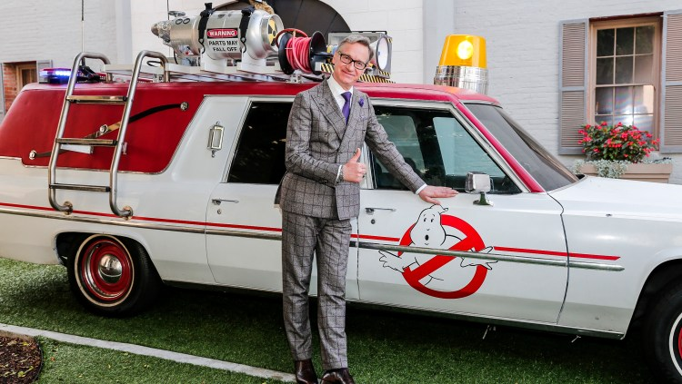 Paul Feig and Ecto one