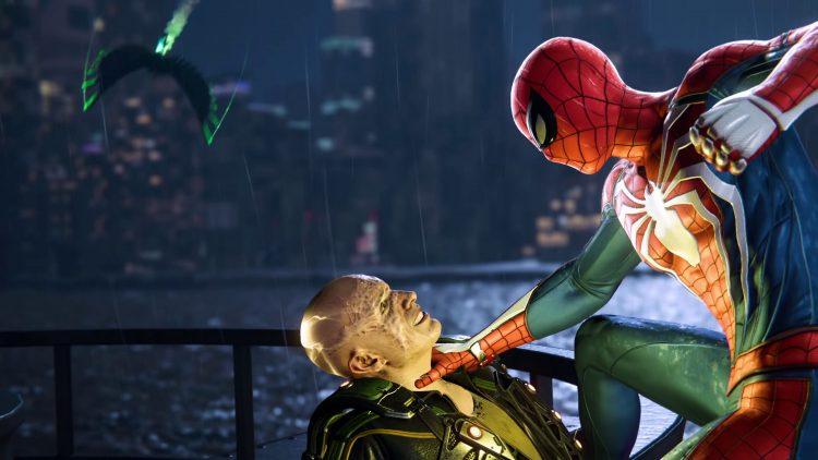 Spider-man killing Elektro