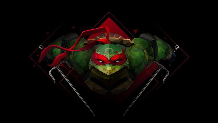 TMNT In Red