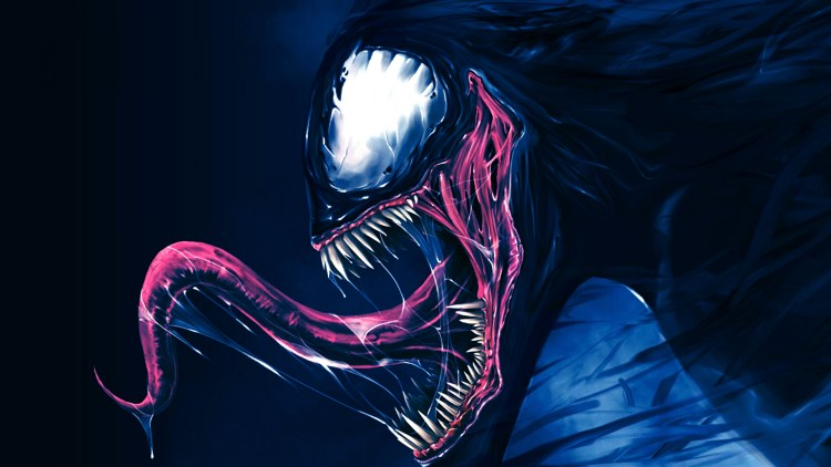 Venom has a weird tongue